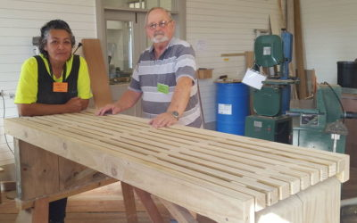 Made locally – Park benches for Otangarei Parks