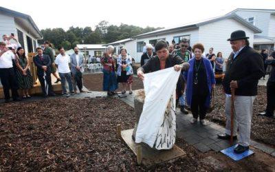 Otangarei papakāinga officially opened by Minister Nanaia Mahuta