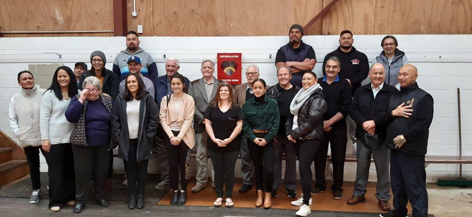 Freemasons NZ Presents Trust with New Defibrillator