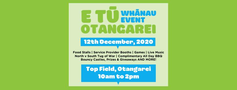 E Tū Otangarei Whānau Event