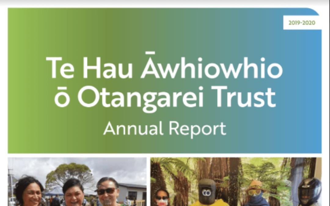 Te Hau Awhiowhio Annual Report 2020